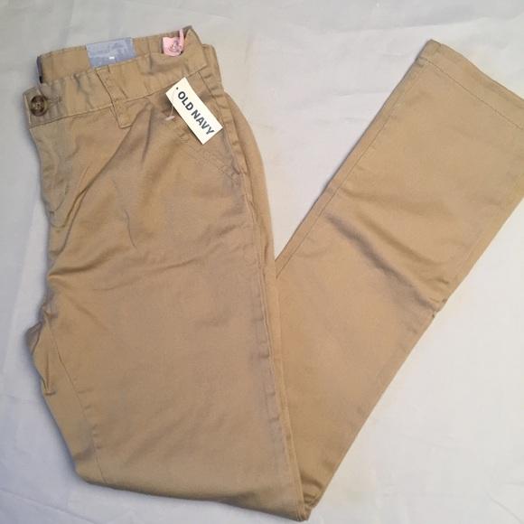 Boys Skinny Trousers Slim FIT Leg School Uniform Pants Adjusters Inside Bottoms